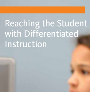 reaching student with differentiated instruction